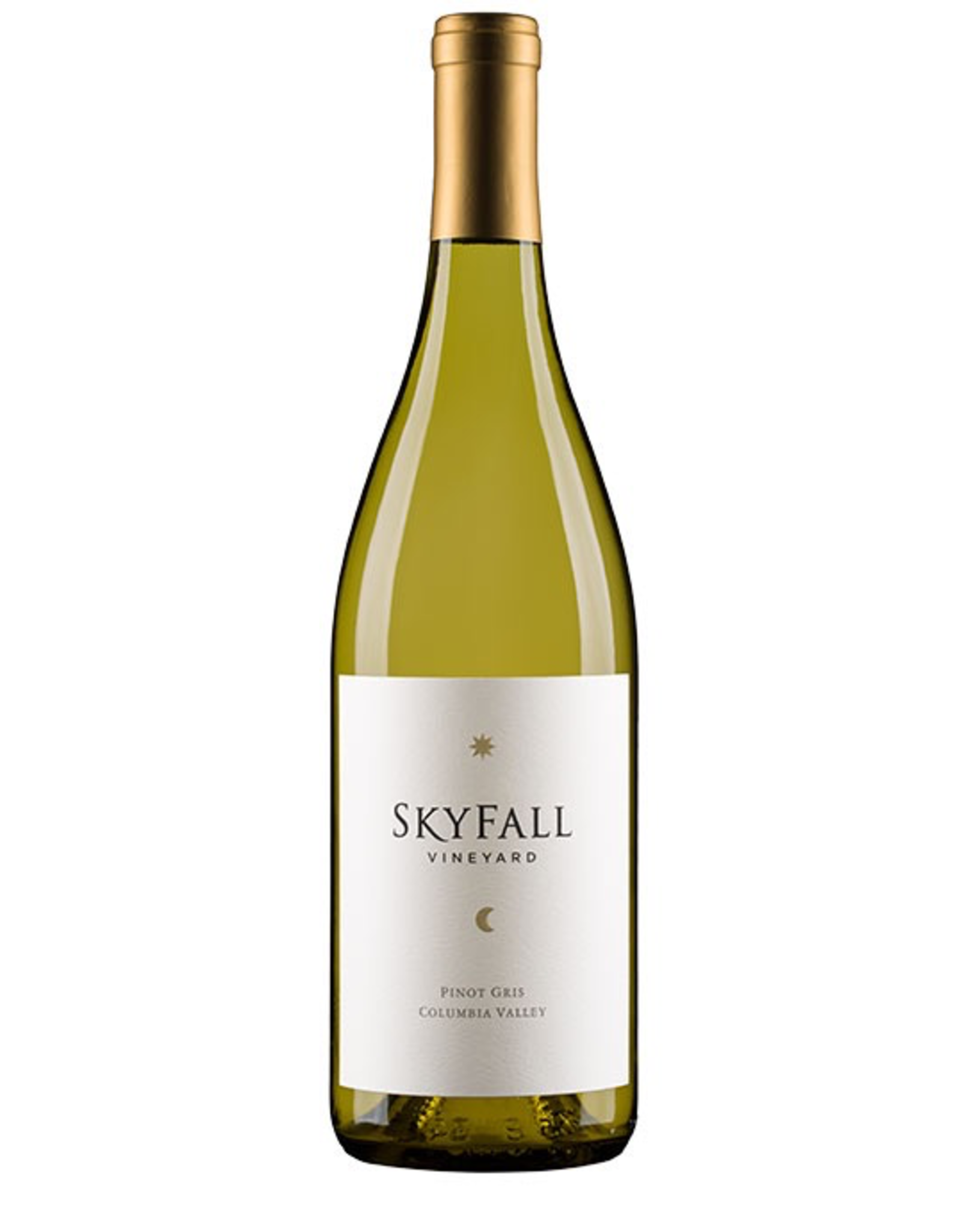 White Wine 2017, Skyfall, Pinot Gris, Multi-regional Blend, Columbia Valley, Washington, 13.0% Alc, CTnr, TW88