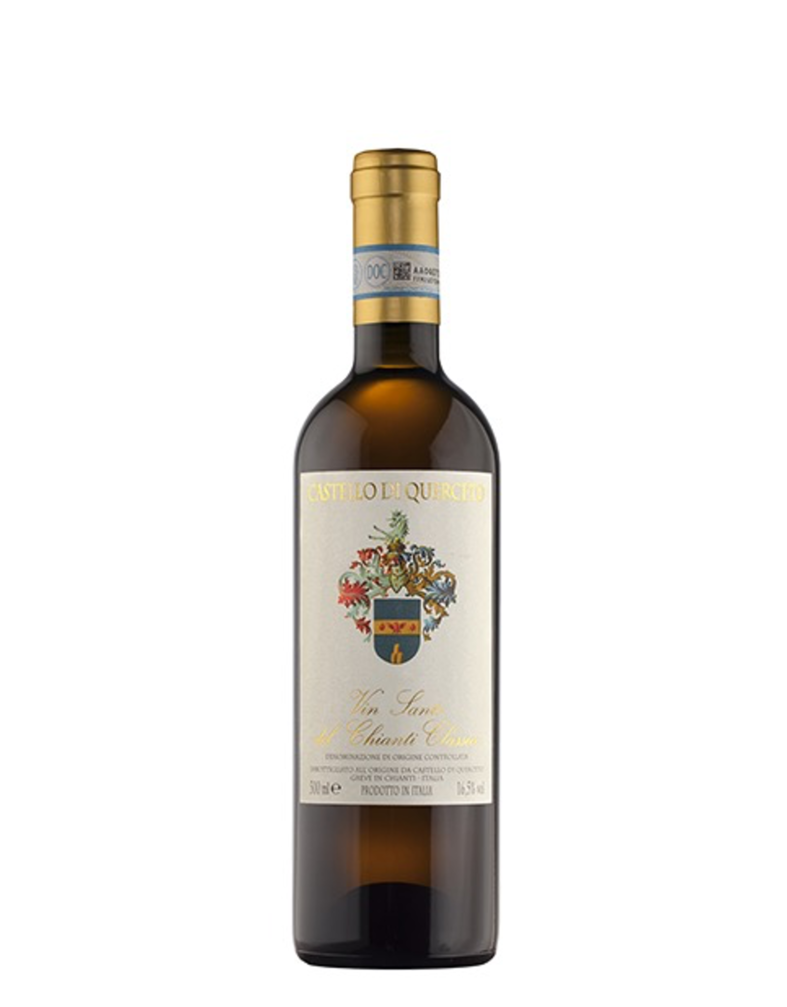 White Wine 2014, Castello di Querceto Vin Santo del Chianti Classico 500ml, White Desert Wine, Greve, Tuscany, Italy, 16.5% Alc, CTnr