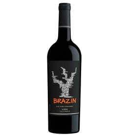 Red Wine 2017, BRAZIN, Old Vine Zinfandel