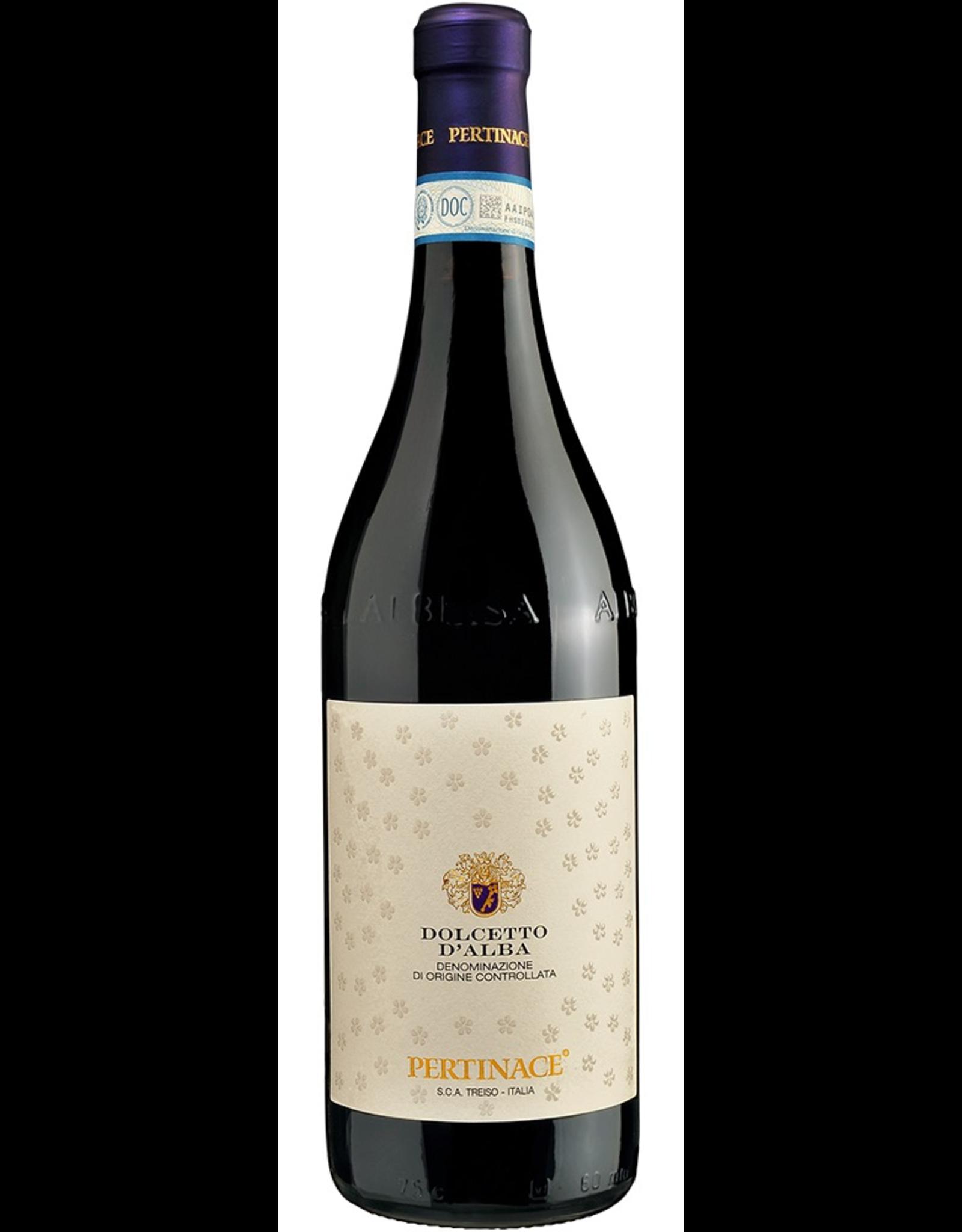 Red Wine 2016, Pertinace, Dolcetto, Alba, Piemonte, Italy, 13.5% Alc, CTnr