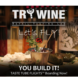 Wine Flights TO-GO TO-GO, TASTE TUBE FLIGHT™ ~ BUILD IT!