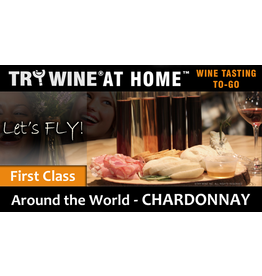 "Wine Flights TO-GO TO-GO, ""Chardonnay"" FIRST CLASS FLIGHT"