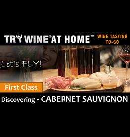 "Wine Flights TO-GO TO-GO, ""Cabernet Sauvignon"" FIRST CLASS FLIGHT"