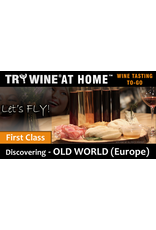 "Wine Flights TO-GO TRY WINE® AT HOME™, Discovering ""OLD WORLD (Europe)"" FIRST CLASS TASTE TUBE FLIGHT™"