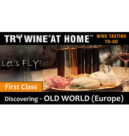 "Wine Flights TO-GO TO-GO, ""Old World (Europe)"" FIRST CLASS FLIGHT"
