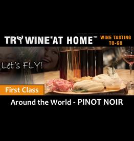 """Wine Flights TO-GO TO-GO, """"Pinot Noir"""" FIRST CLASS FLIGHT"""