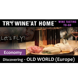 "Wine Flights TO-GO TO-GO, ""Old World (Europe)"" ECONOMY FLIGHT"