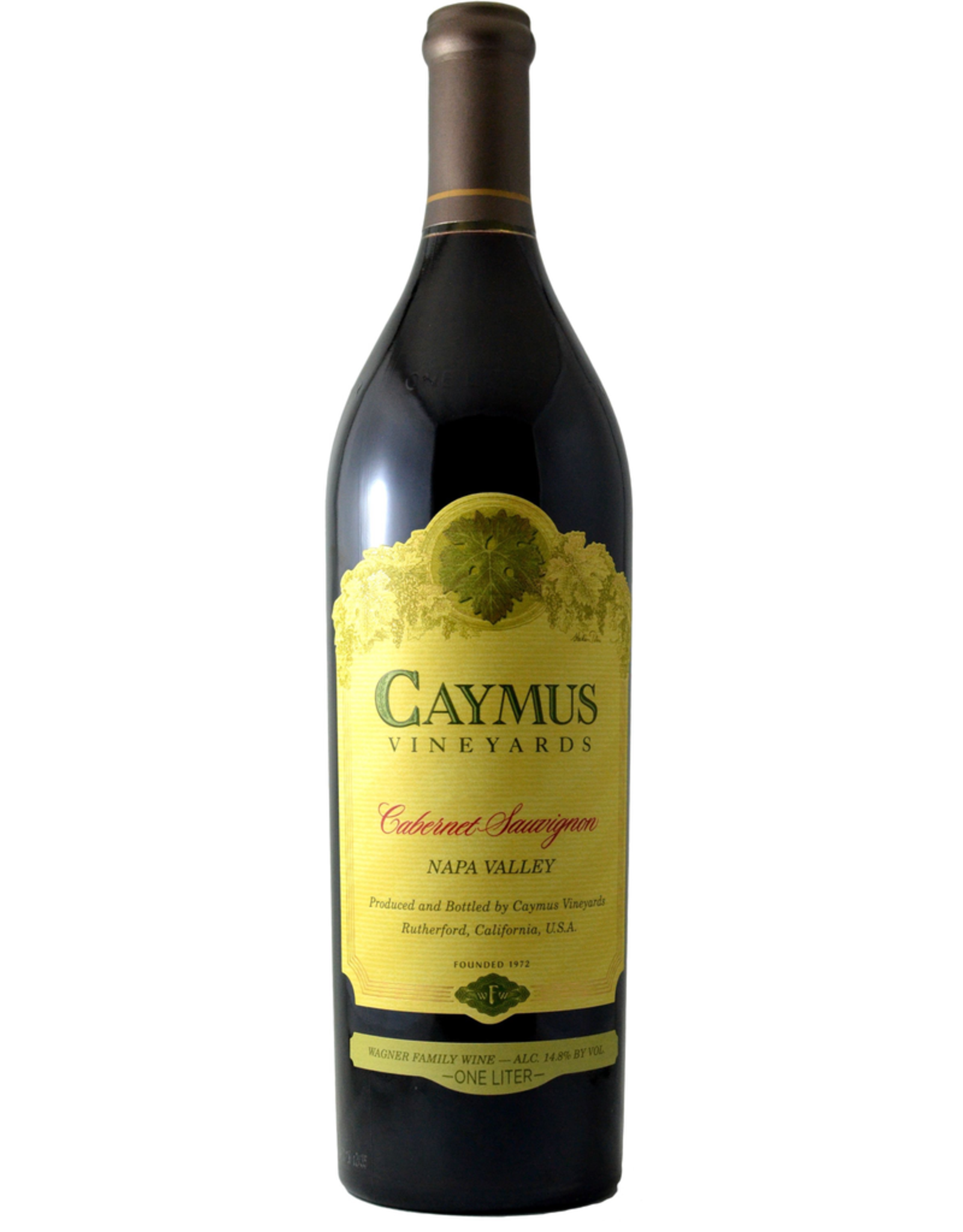 Red Wine 2018, Caymus Vineyards 1 Liter, Cabernet Sauvignon, Napa, Napa Valley, California, 14.6% Alc, CT