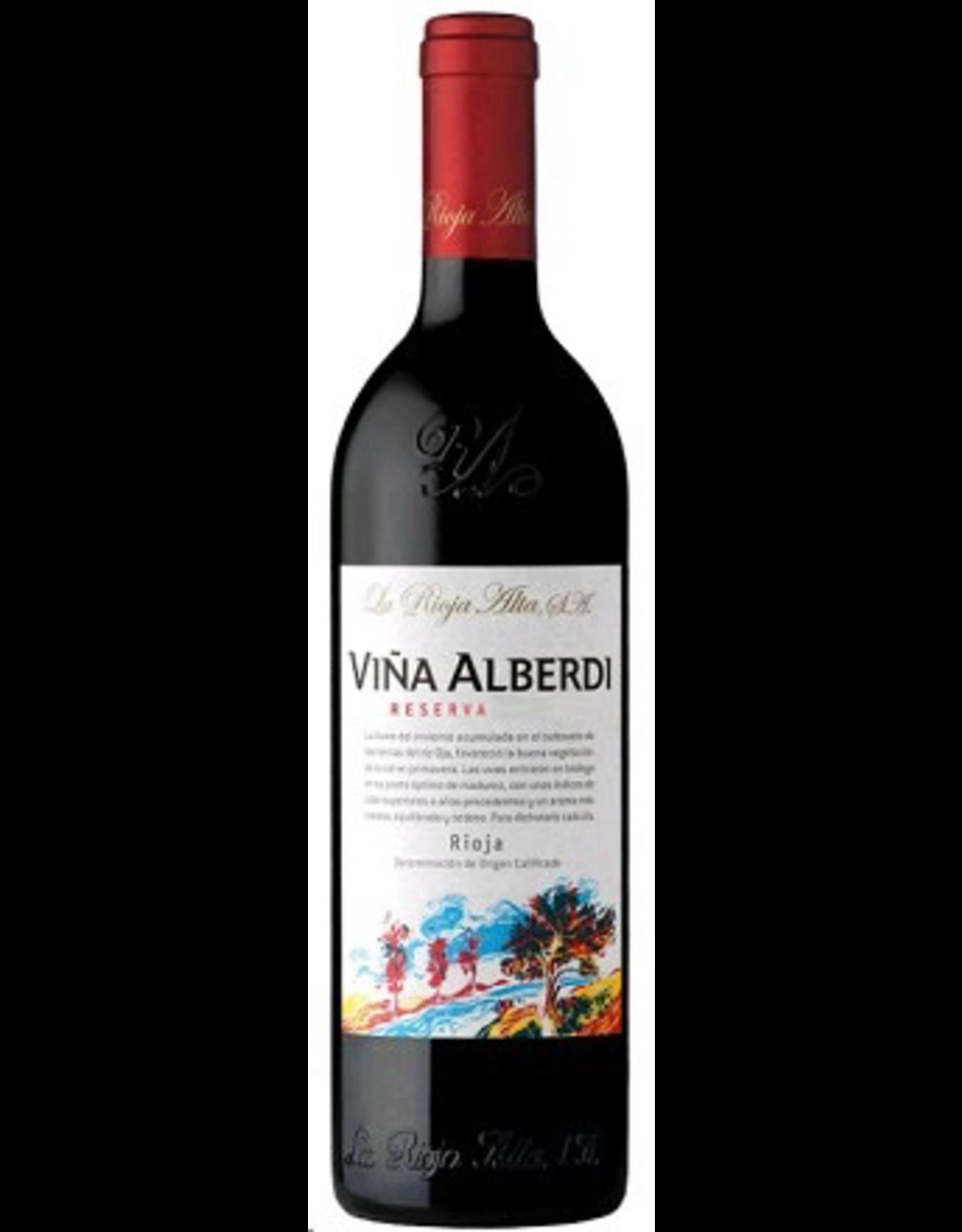 Red Wine 2012, 375ml La Rioja Alta S.A. Vina ALBERDI Reserva, Red Tempranillo Blend, Haro, Rioja, Spain, 13.5% Alc, CT