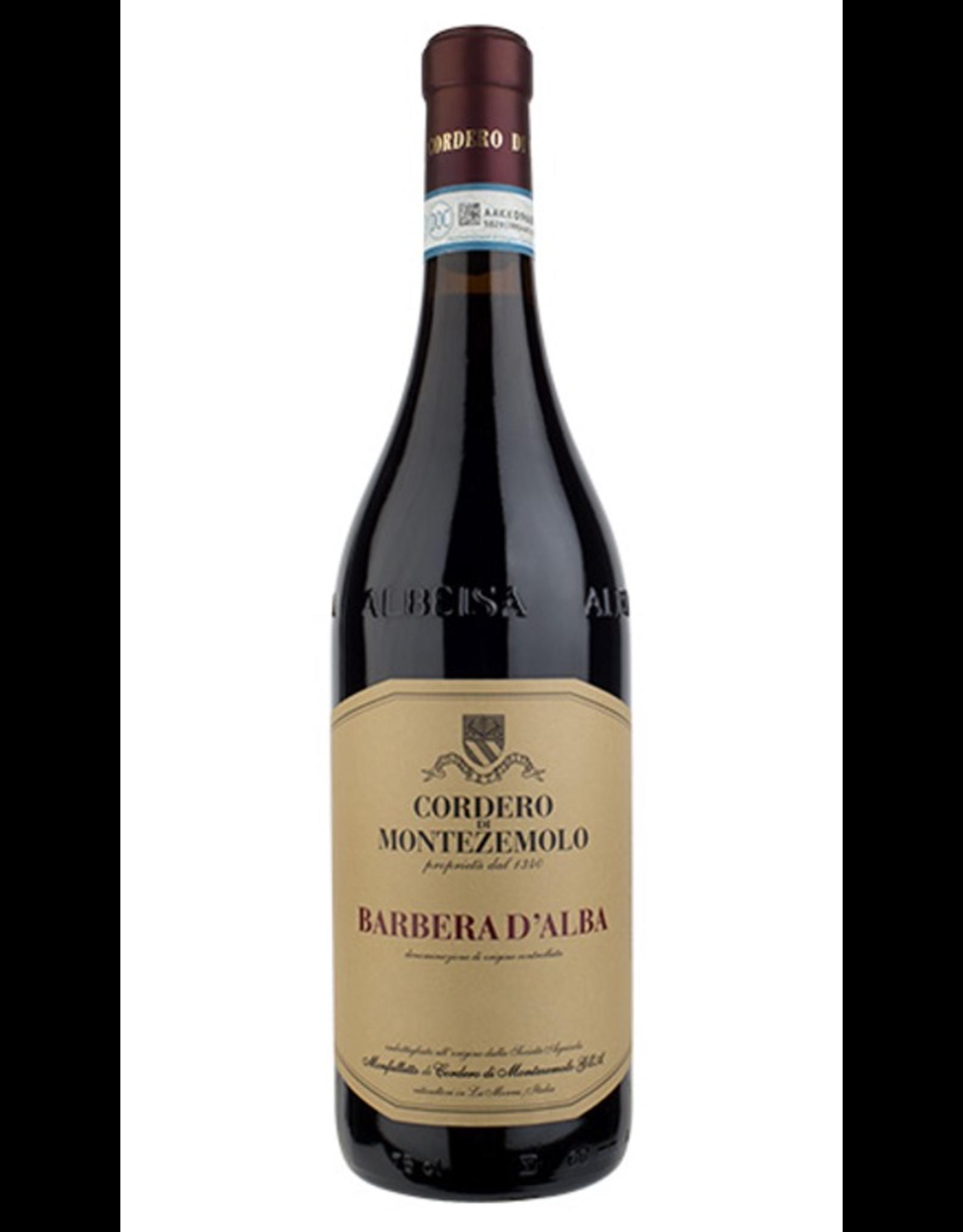 Red Wine 2018, Cordero di Montezemolo, Barbera, Alba, Piemonte, Italy, 13.5% Alc, CTnr