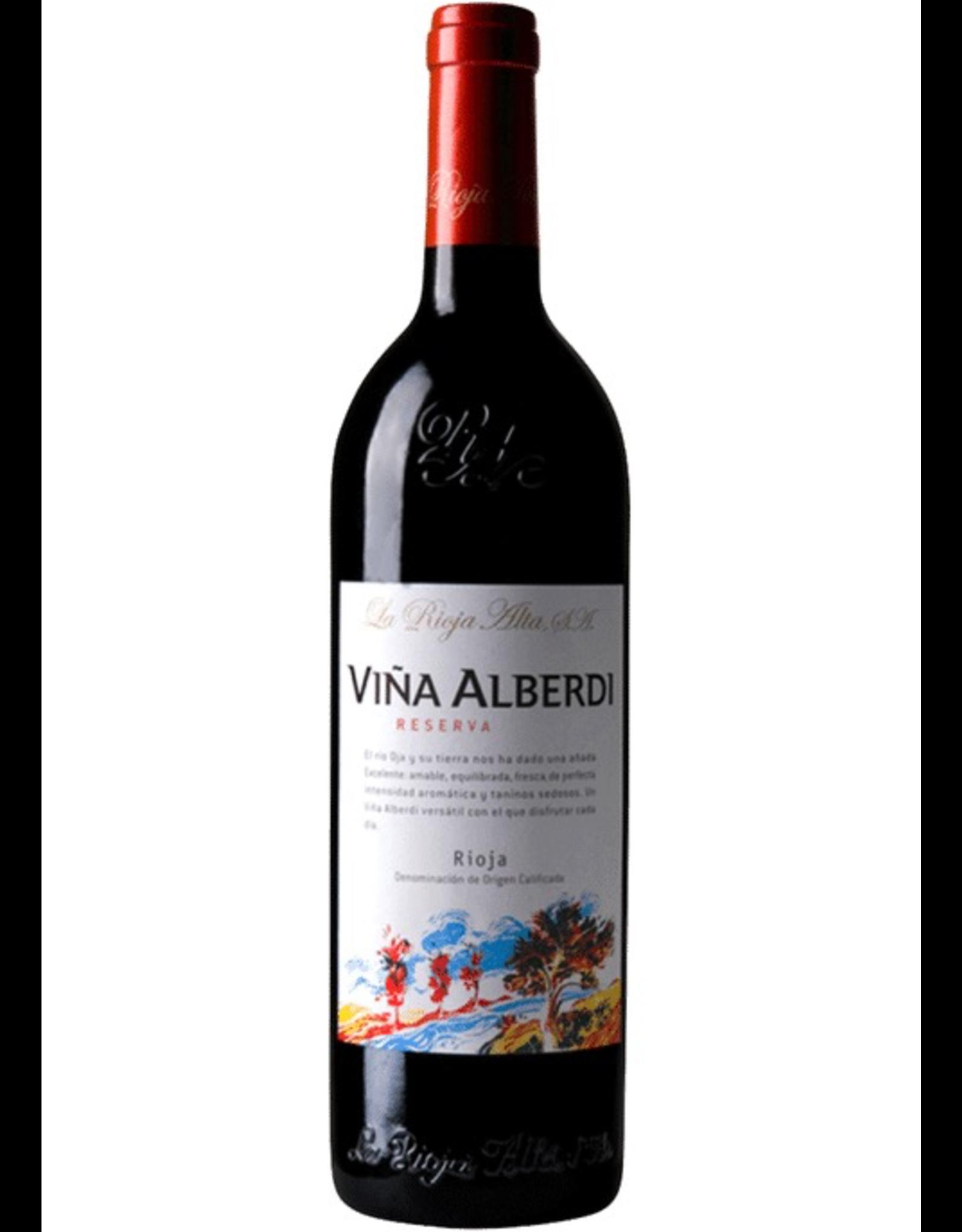 Red Wine 2013, La Rioja Alta S.A. Vina ALBERDI Rioja Reserva, Tempranillo Blend, Haro, Rioja, Spain, 13.5% Alc, CTnr, TW92