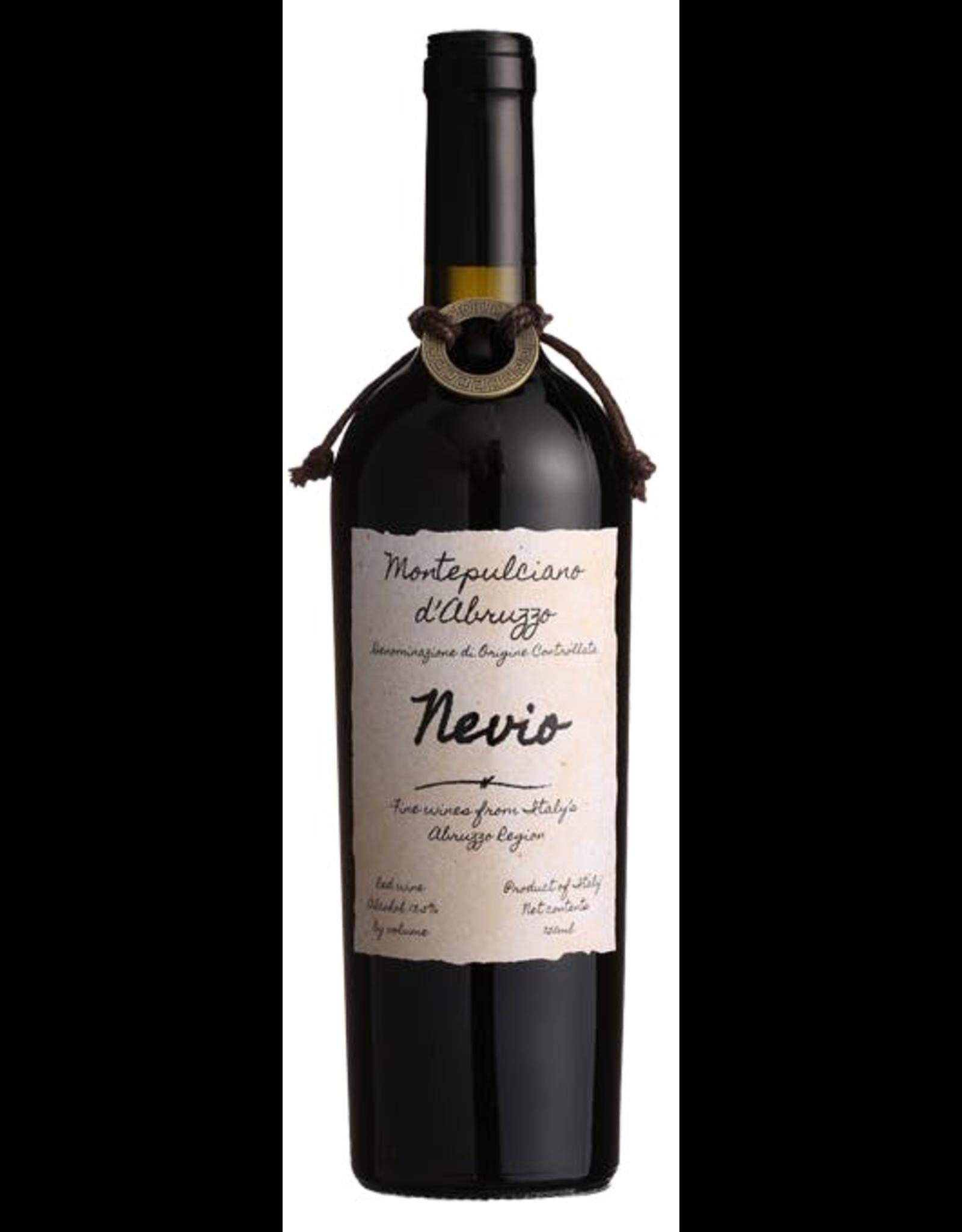 Red Wine 2017, Nevio, Montepulciano, San Marino, Montepulciano d'Abruzzo, Italy, 13.5% Alc,