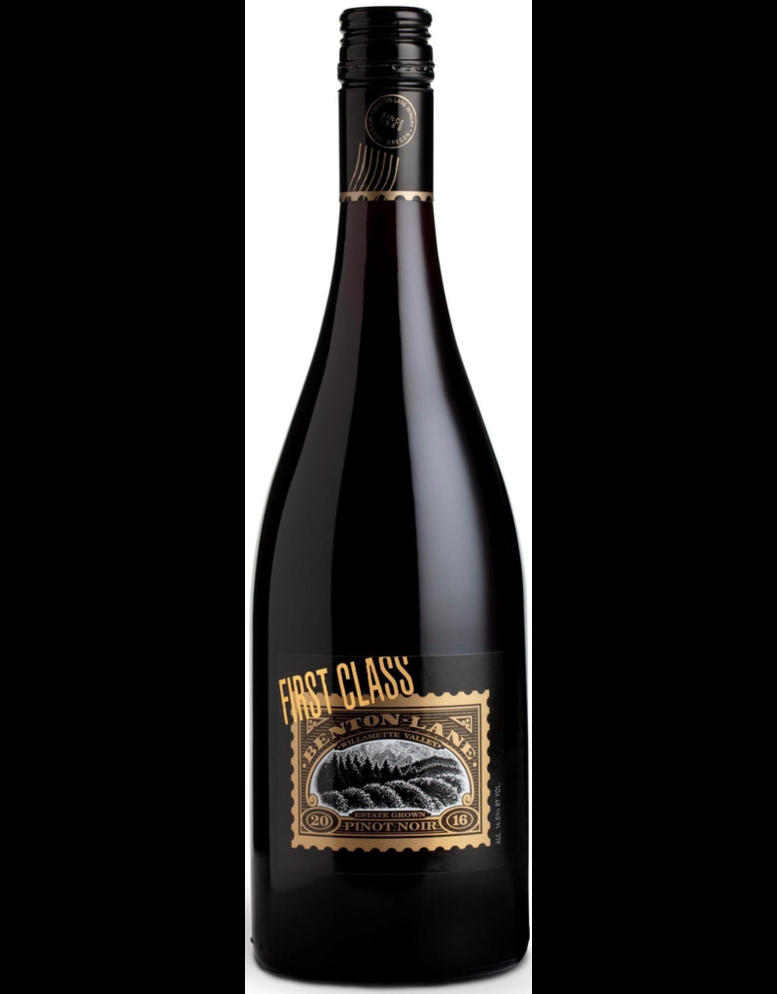 "Red Wine 2014, Benton Lane ""First Class"", Pinot Noir, Sunnymount Ranch, Willamette Valley, Oregon, 14.1% Alc, CTnr, WS92 WE90, TW93"