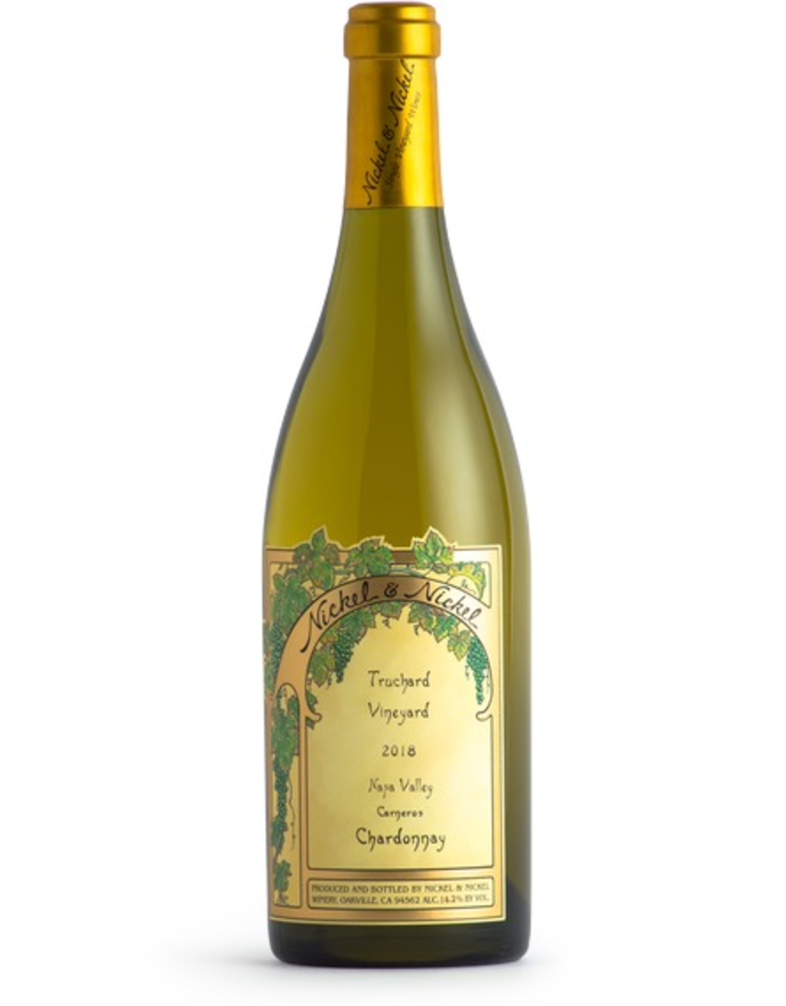White Wine 2018, Nickel & Nickel Truchard Vineyard, Chardonnay, Carneros, Sonoma, California, 14.1% Alc, CTna