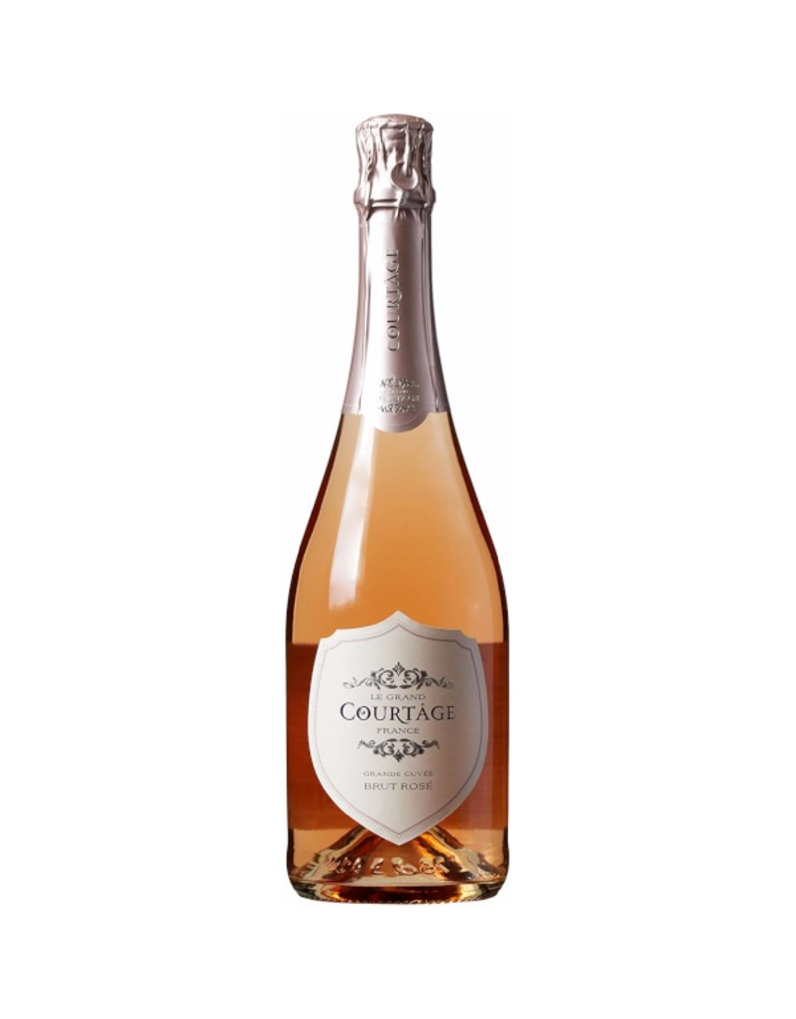 Sparkling Wine NV, Le Grand Courtage Rose Brut, Sparkling Rose, No AVA, No AVA, France, 11.5% Alc, CTnr, TW90
