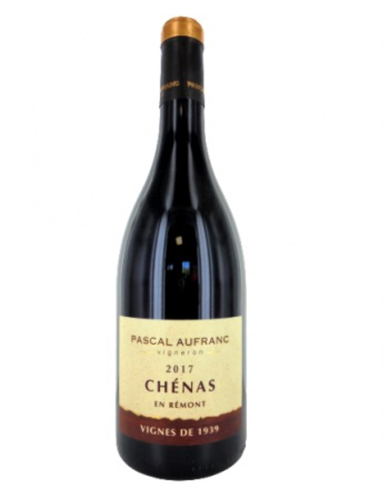 Red Wine 2017, Domaine Pascal Aufranc Chenas, Gamay, Beaujolais, Burgundy, France, 12.5% Alc, CTnr