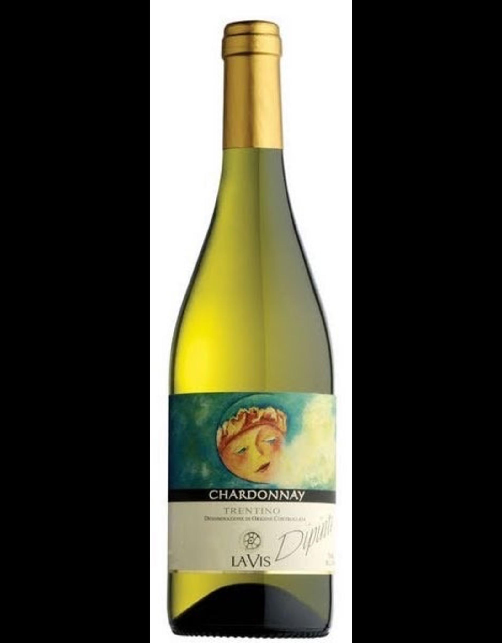White Wine 2018, La Vis Dipinti, Chardonnay, Vigneti delle Dolomiti IGT, Trentino-Alto Adige, Italy, 12.5% Alc, CTnr, TW90