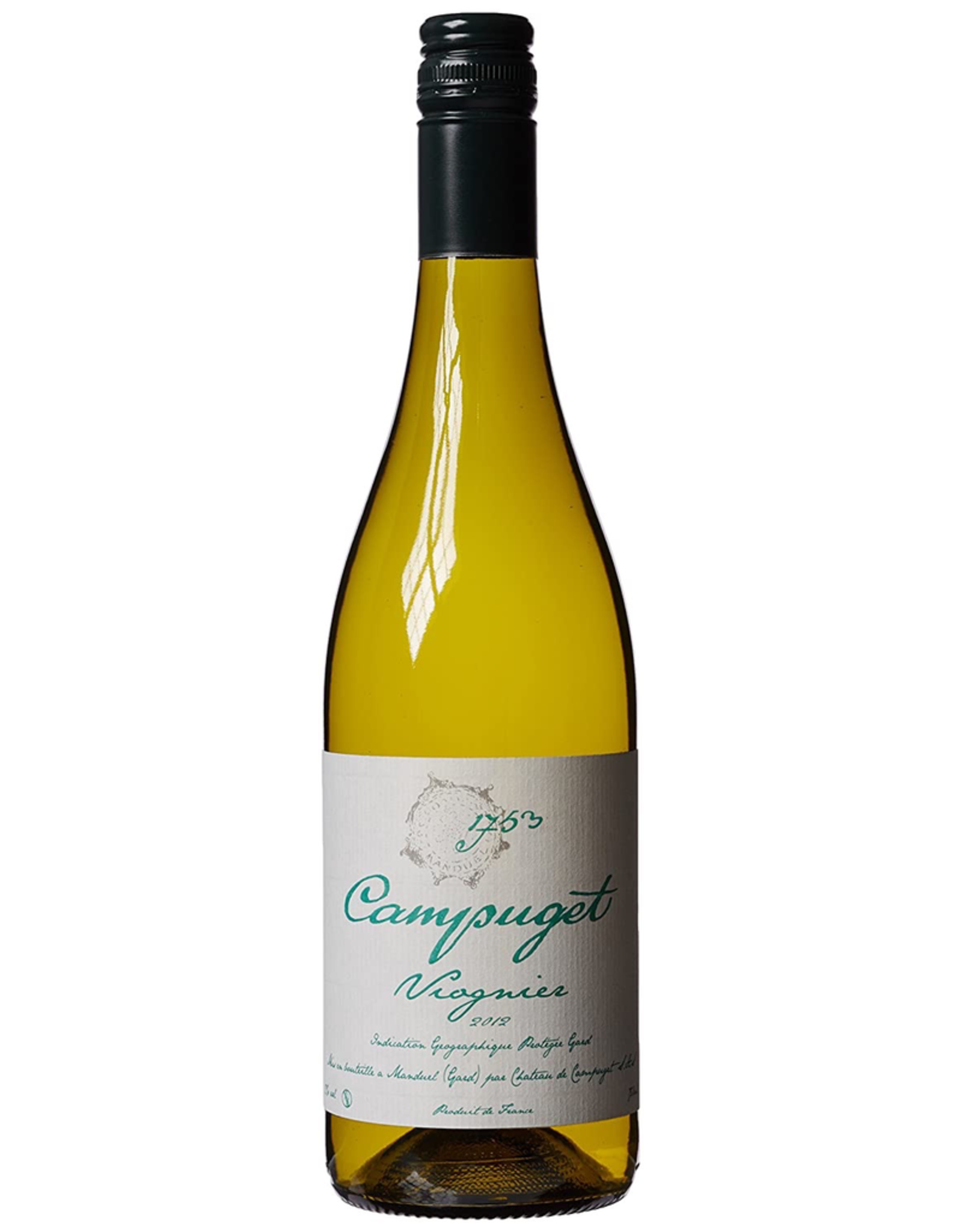 FlashSaleWine 2012, Campuget, Viognier, Languedoc-Roussillon, Southern Rhone, France, 13% Alc, CT87