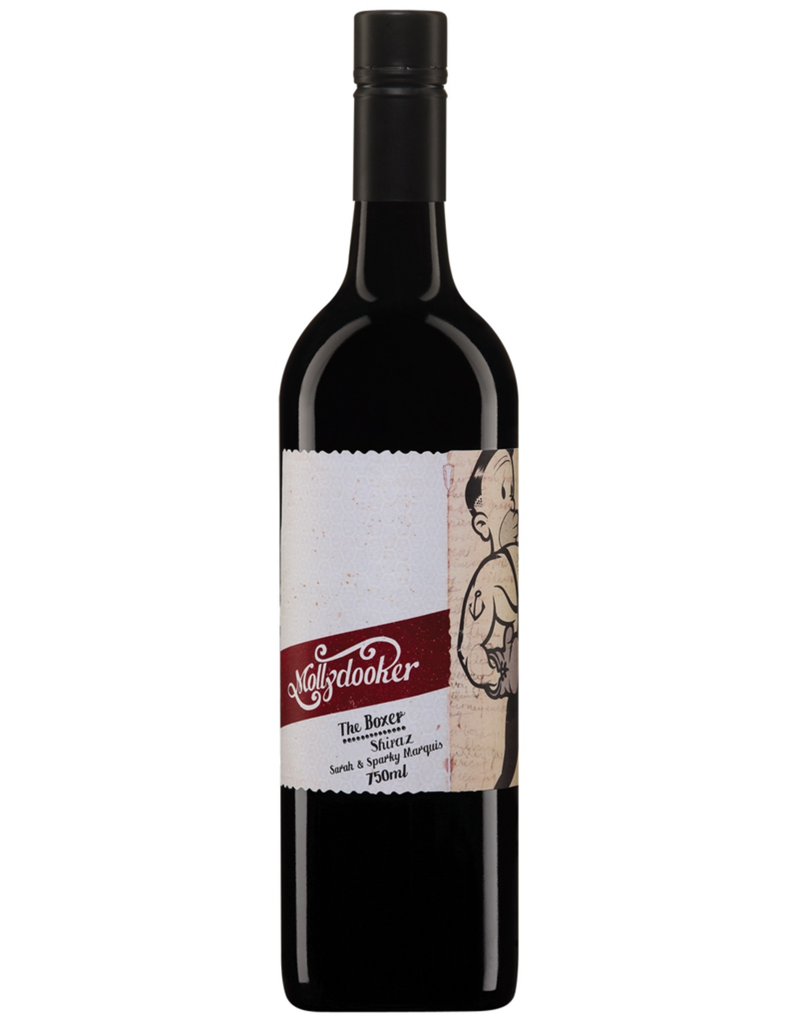Red Wine 2018, Molly Dooker The Boxer, Shiraz, McLaren Vale,  South Australia, Australia, 15.5% Alc, CTnr, RP91