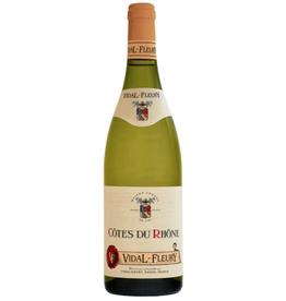 White Wine 2015, Vidal-Fleury Cotes du Rhone Blanc, White Blend