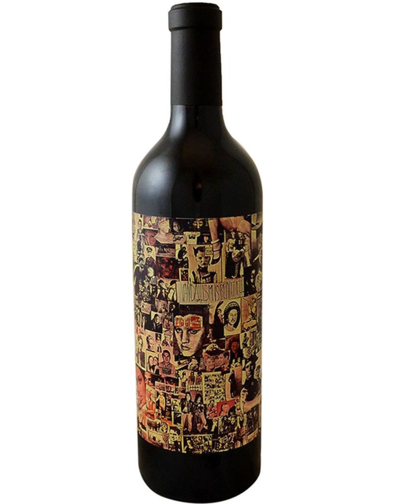 Red Wine 2018, Orin Swift Abstract, Red Rhone Blend, Multi-regional Blend, Napa Valley, California, 15.1% Alc, CT90