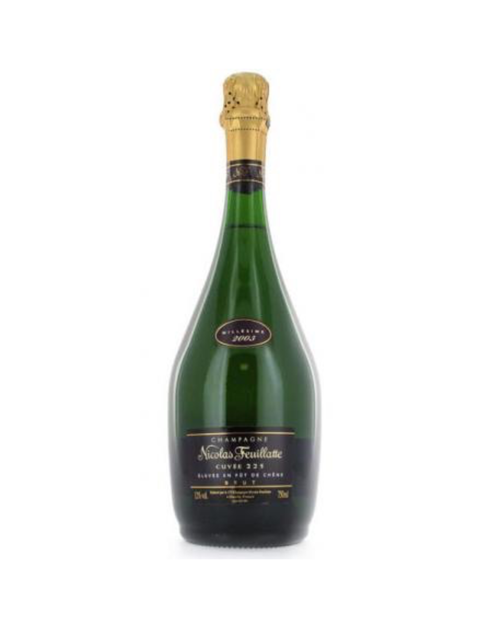 Sparkling Wine 2003, Nicholas Feuillatte Cuvee 225 Millesime Brut, Chouilly, Champagne, France, 12% Alc, TW96