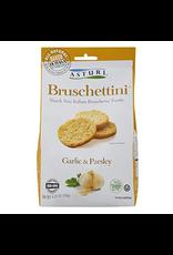 Specialty Foods Asturi, Bruschettini, Garlic and Parsley, Italy, 4.23oz. 120g