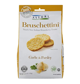 Specialty Foods Asturi, Bruschettini, Garlic and Parsley