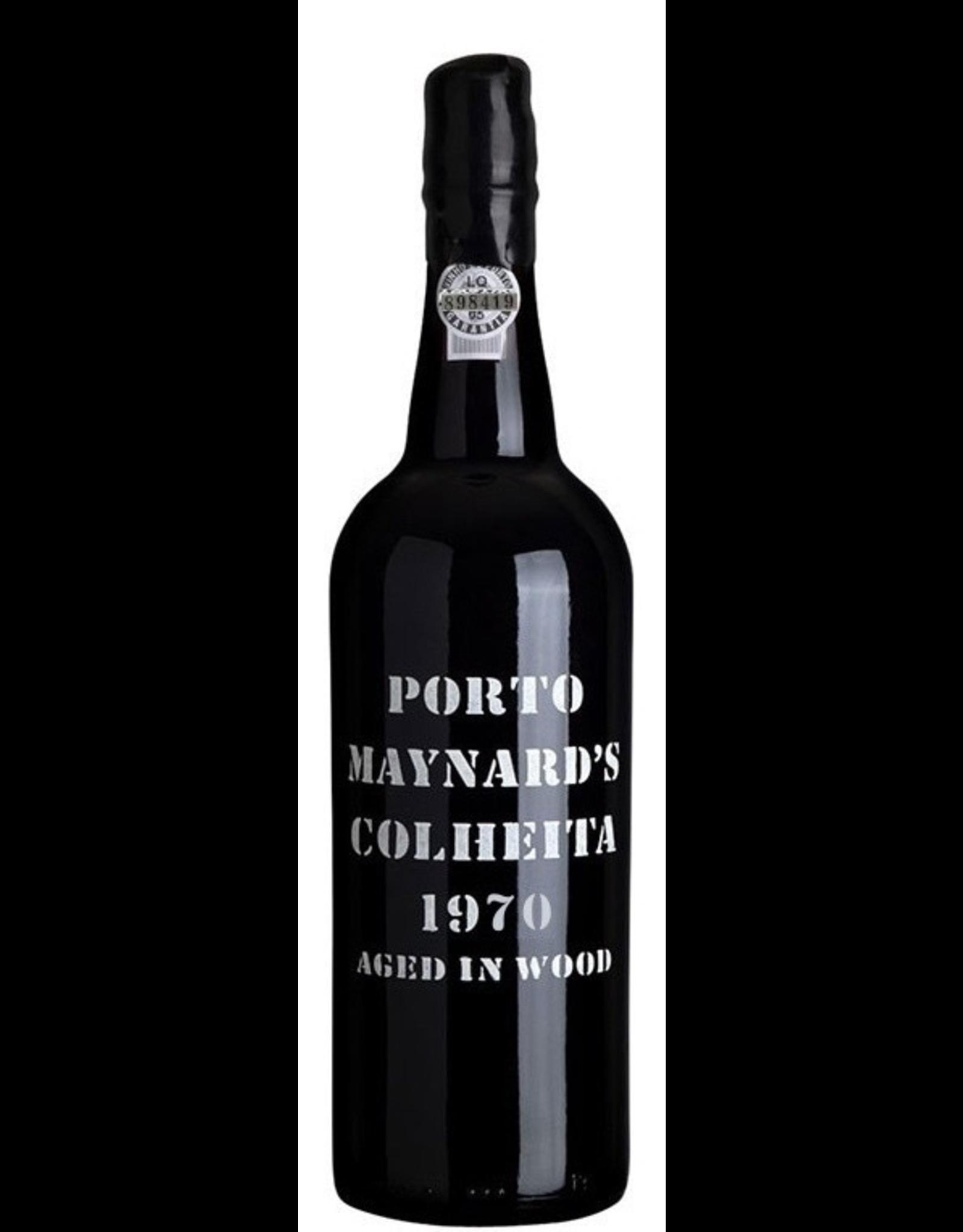 Port 1970, Maynard's Vintage Colheita Porto, Port, Douro Valley, Oporto, Portugal, % Alc, CTnr