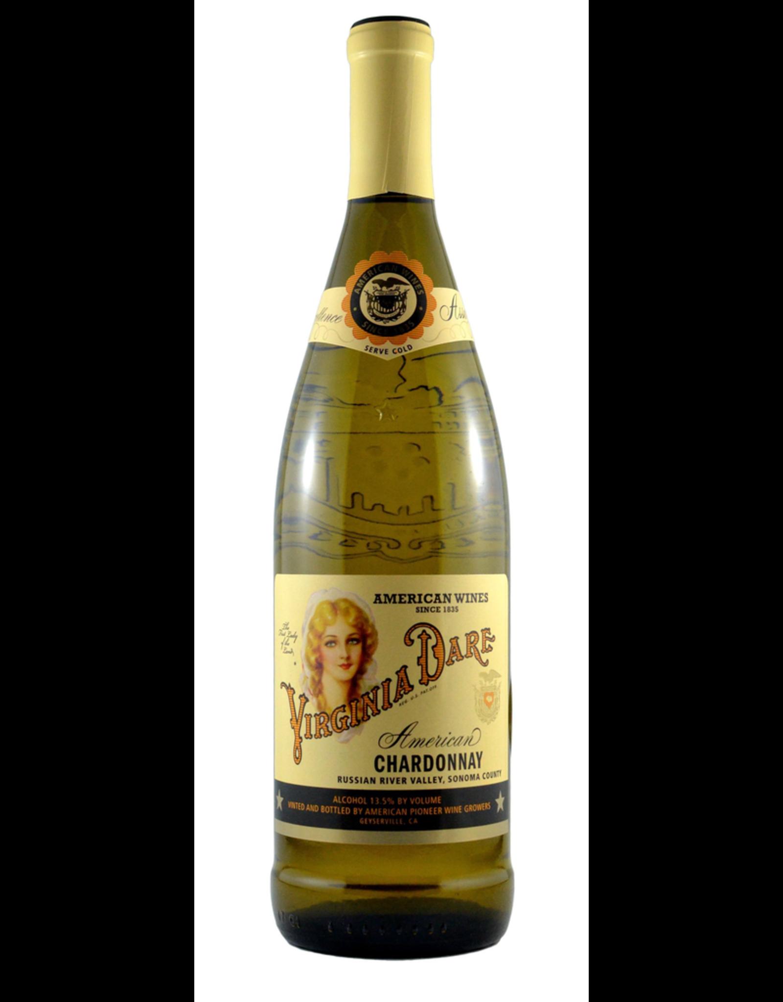 White Wine 2015, Virginia Dare by Coppola, Chardonnay, Russian River Valley, Sonoma County, California, 13.5% Alc, CTnr, TW90
