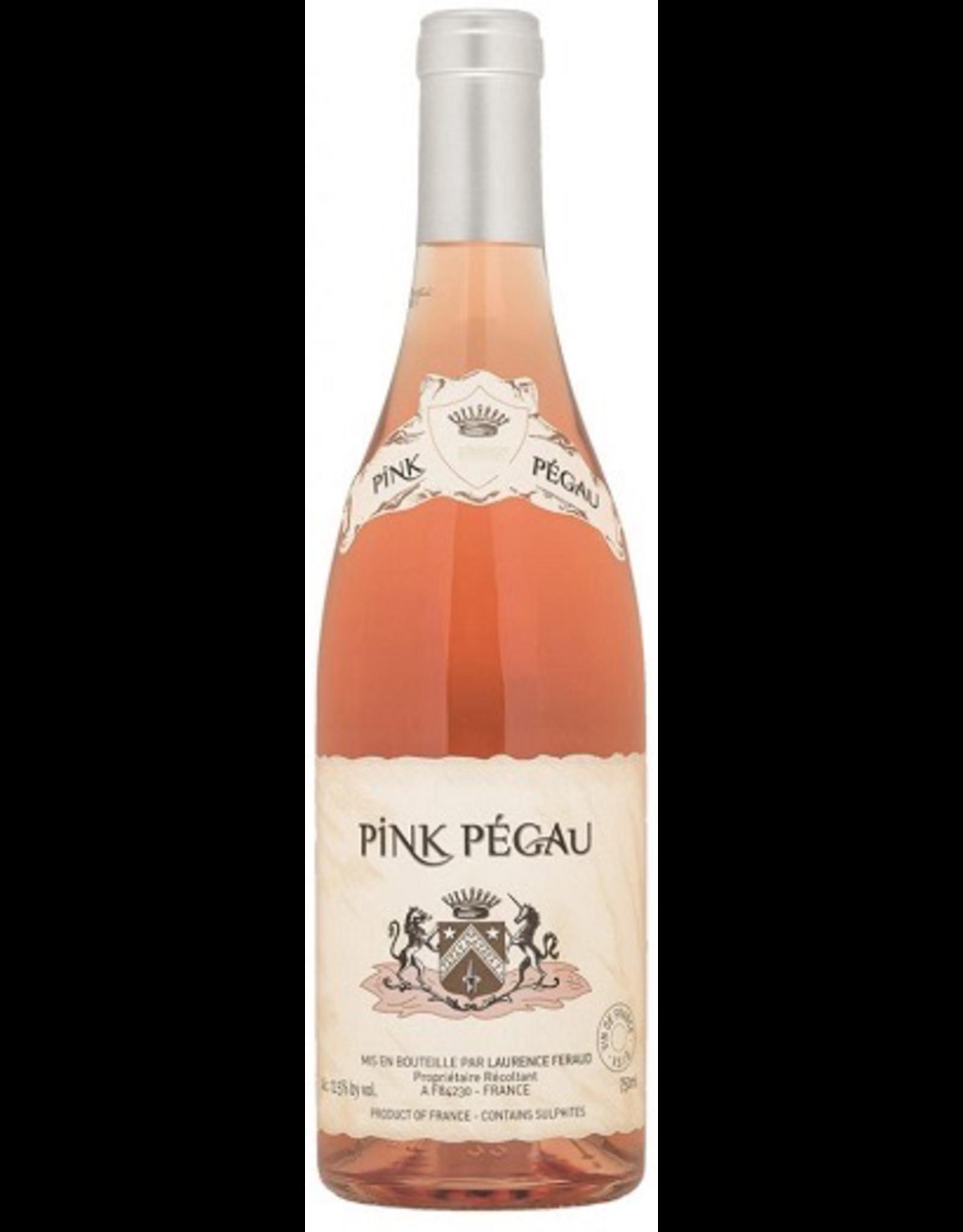 Rose Wine 2016, Pink Pegau by Chateau Pegau, Rose, Cotes Du Rhone, Southern Rhone, France, 14% Alc, CT, TW91
