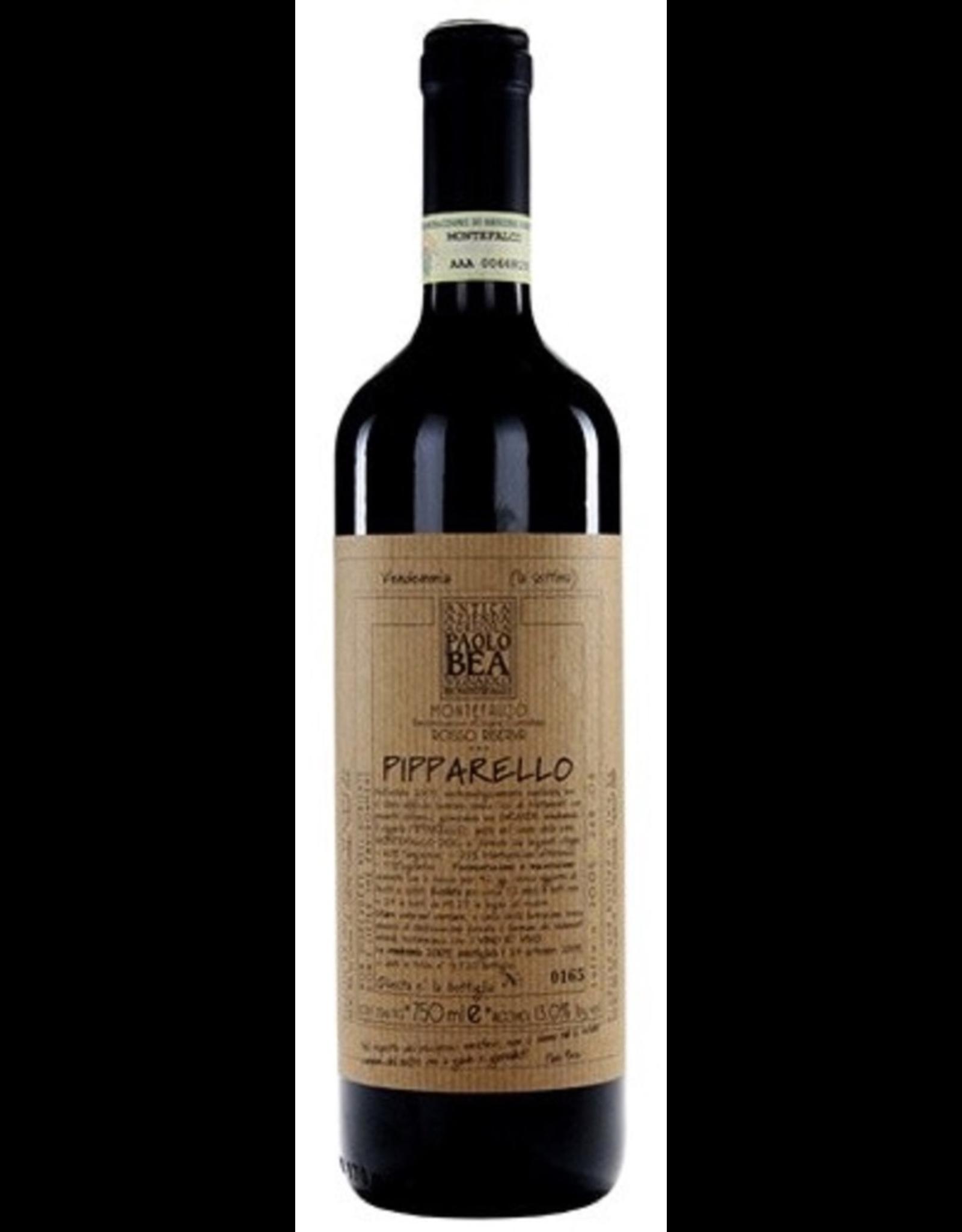Red Wine 2015, Paolo Bea Pipparello, Sangiovese Sagrantino Montepulciano, Montefalco, Umbria, Italy, 15% Alc, CTnr