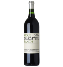 Red Wine 2016, Ridge Demostene Ranch, Red Blend