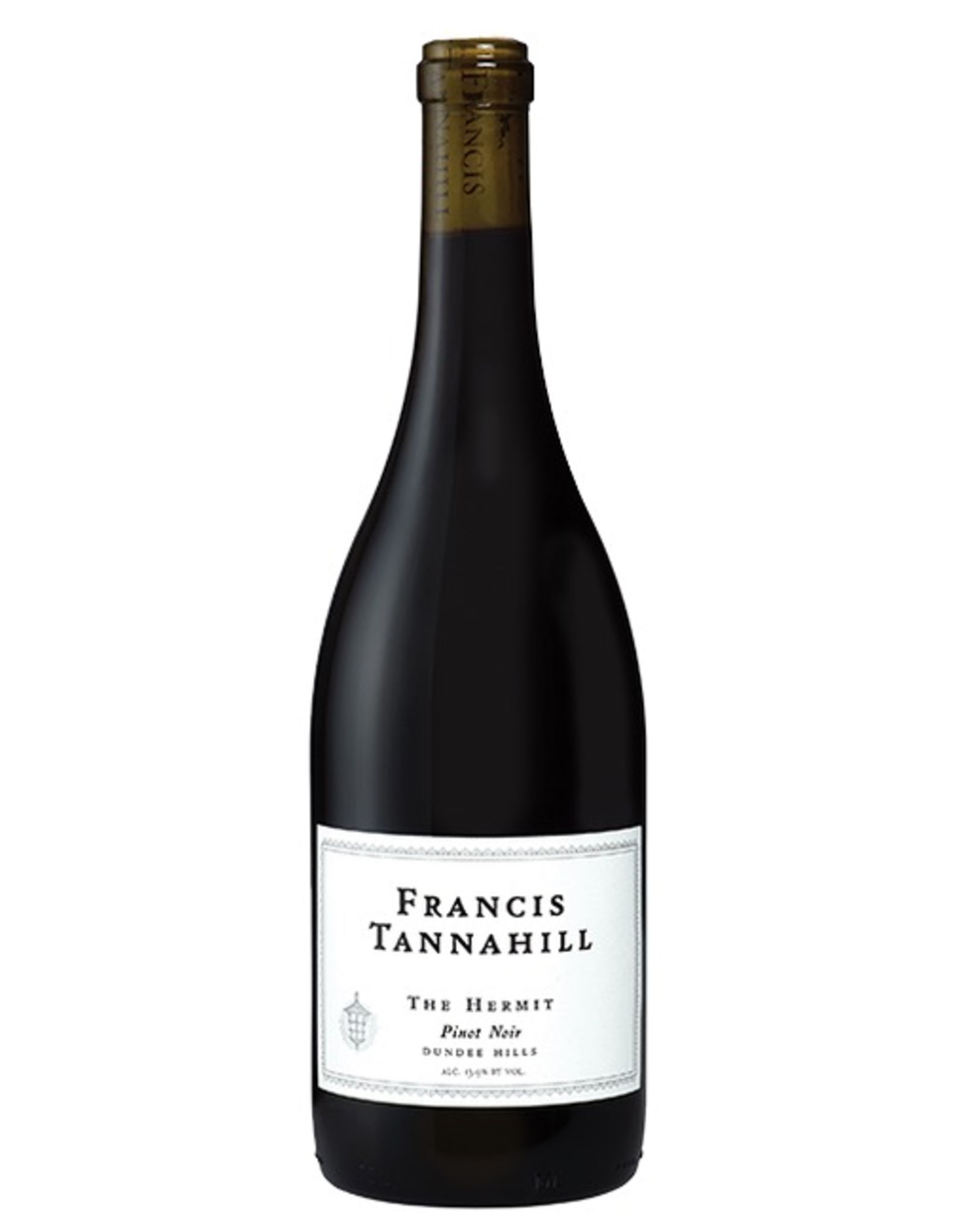 "Red Wine 2016, Francis Tannahill ""The Hermit"" Single Vineyard, Pinot Noir, Pearl Vineyard Dundee Hills, Willamette Valley, Oregon, 13.9% Alc, CTnr"