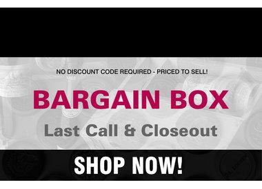 THE BARGAIN BOX! Last Call & Closeout Wines