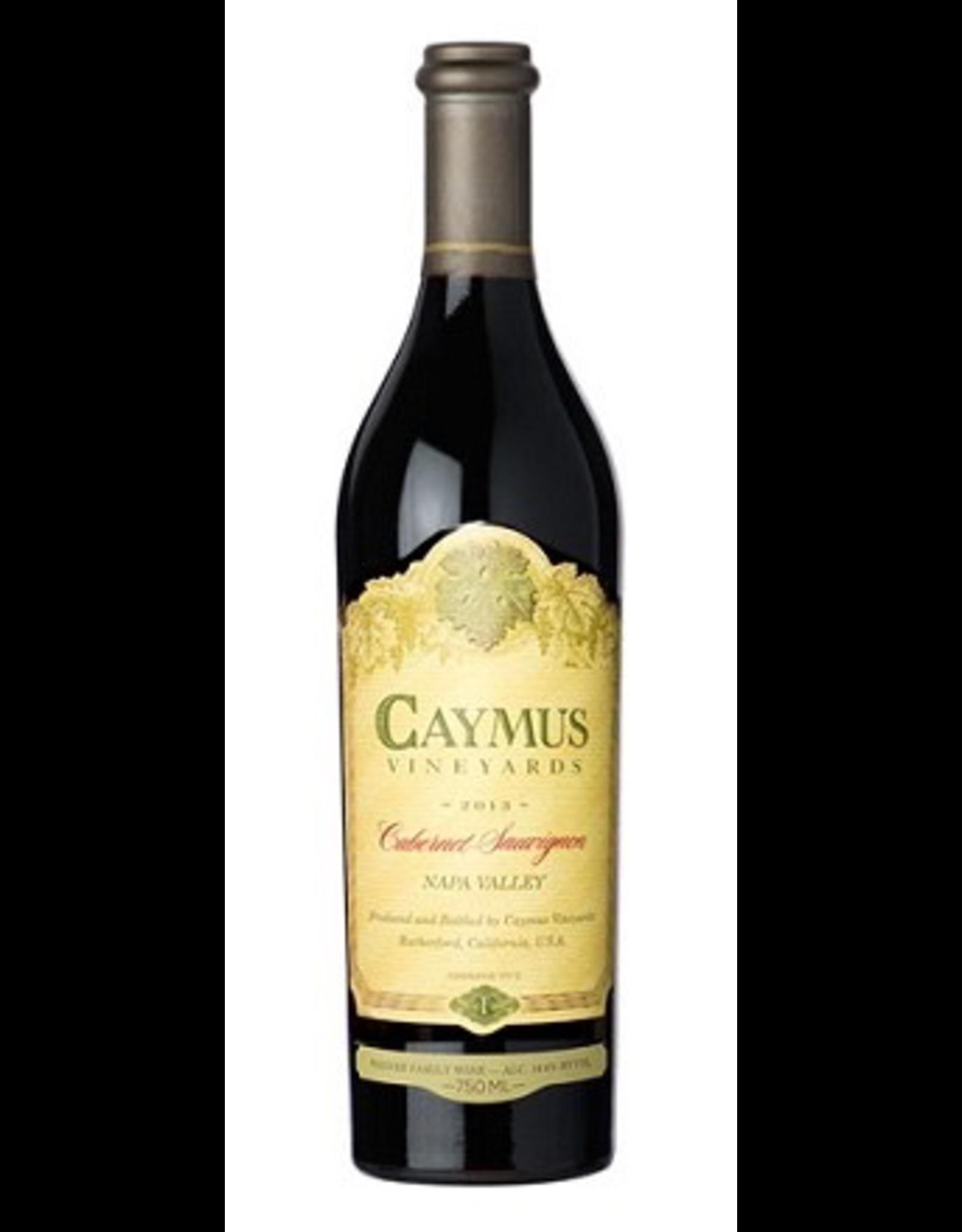 Red Wine 2018, Caymus Vineyards 750ml, Cabernet Sauvignon, Napa, Napa Valley, California, 14.6% Alc, CT90
