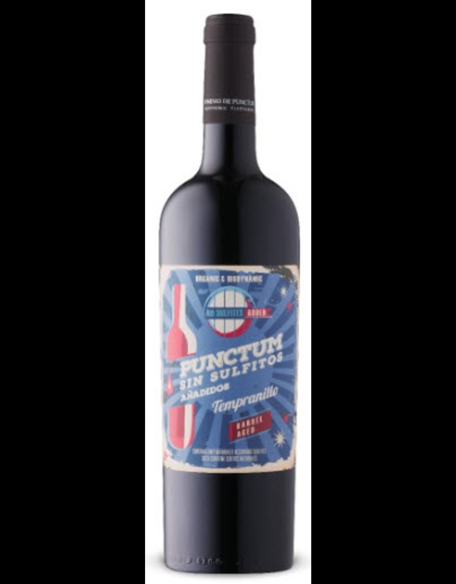 Red Wine 2018, Dominio de Punctum Low Sulfite Barrel Aged Organic & Biodynamic, Tempranillo, Las Pedroñeras, La Mancha, Spain, 13.5% Alc, CTnr