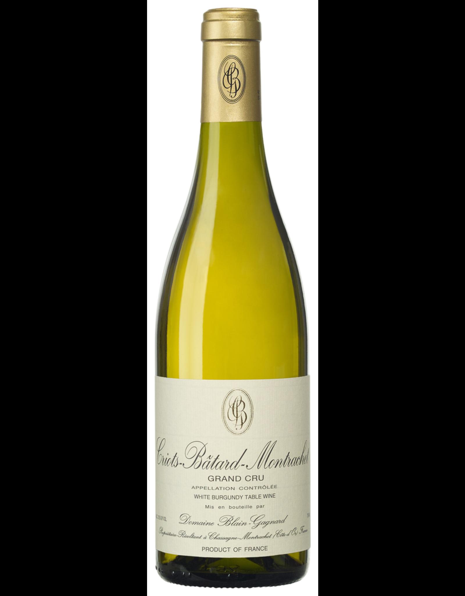 White Wine 2018, Domaine Blain-Gagnard  Griots-Batard-Montrachet Grand Cru, Chardonnay, Criots-Batard-Montrachet, Burgundy, France, 13.5% Alc, CTnr