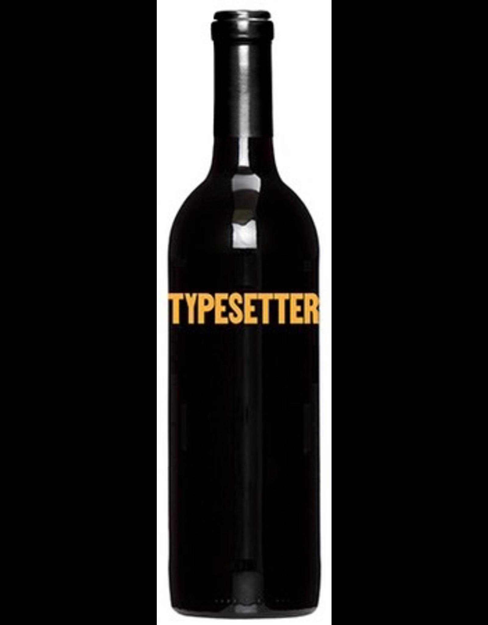 Red Wine 2018, Typesetter, Cabernet Sauvignon, Multi AVA, Napa Valley, California, 13.5% Alc, Ctna