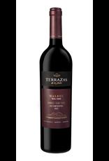 Red Wine 2015, Terrazas de los Andes Las Compuertas, Malbec, Lujan de Cuyo, Mendoza, Argentina, 15% Alc, CT