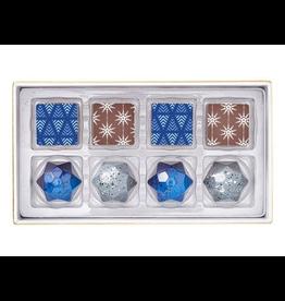 Chocolates Christopher Elbow, 8 Piece Winter Box