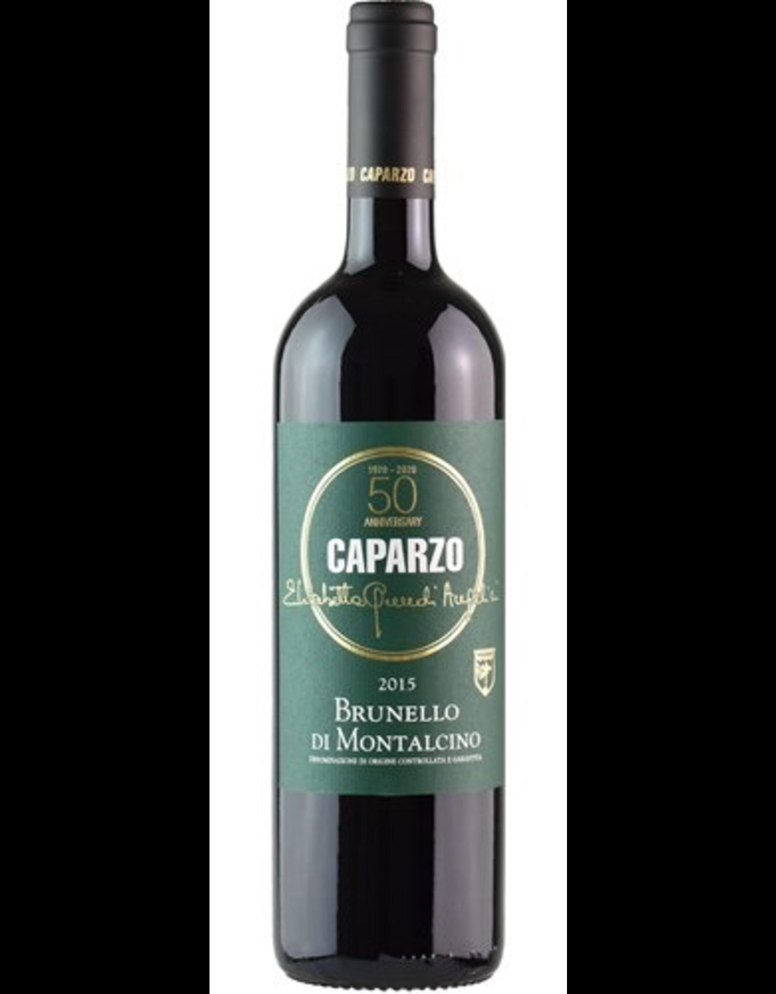 Red Wine 2015, Caparzo Brunello di Montalcino, Sangiovese, Montalcino, Tuscany, Italy, 13% Alc, CTnr JS95
