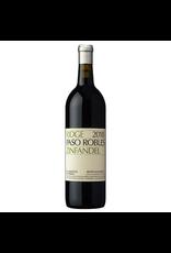 Red Wine 2018, Ridge Benito Dusi Ranch Vineyard, Zinfandel, Paso Robles, Central Coast, California, 14.8% Alc, CTna JD91