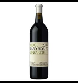 Red Wine 2018, Ridge Benito Dusi Ranch Vineyard, Zinfandel
