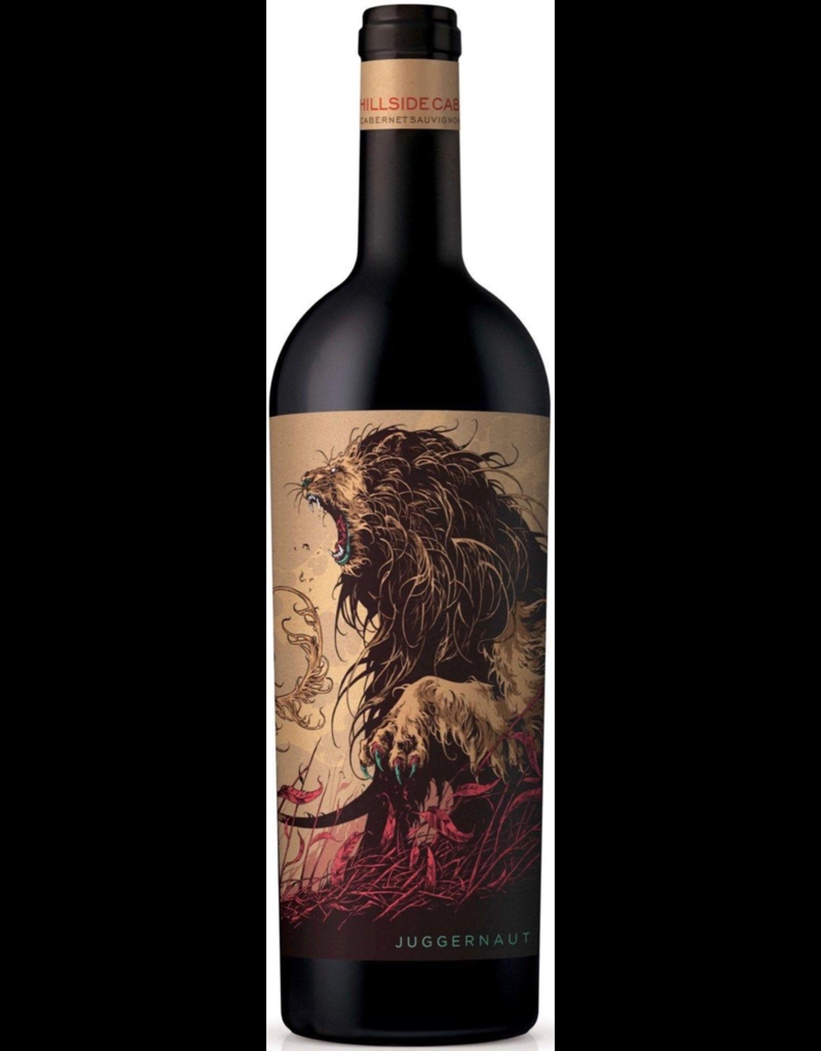 Red Wine 2018, Juggernaut Hillside, Cabernet Sauvignon, Multi-Regional, Multi AVA, California, 14.5%, CTnr
