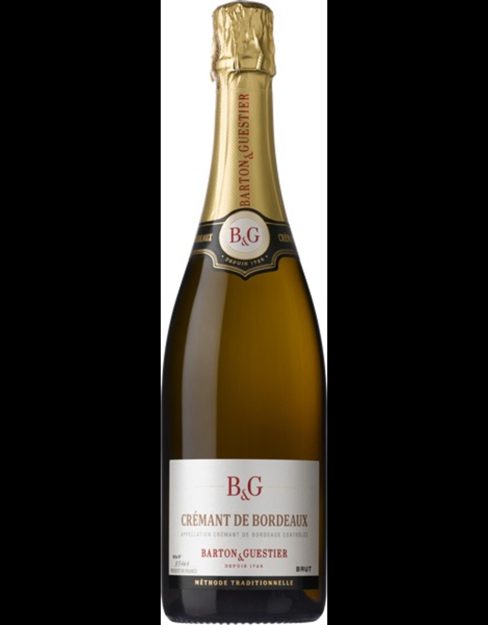 Sparkling Wine NV, Barton & Guestier Cremant Be Bordeaux BRUT, BRUT Sparkling, Bordeaux, Bordeaux, France, 12.1% Alc, TW90