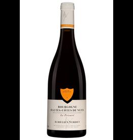 Red Wine 2018, Aurelien Verdet Le Prieure Bourgogne Hautes Cotes de Nuits, Pinot Noir