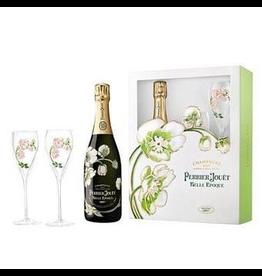 Sparkling Wine 2012, Jouet Belle Epoque GIFT w/Glasses, Brut
