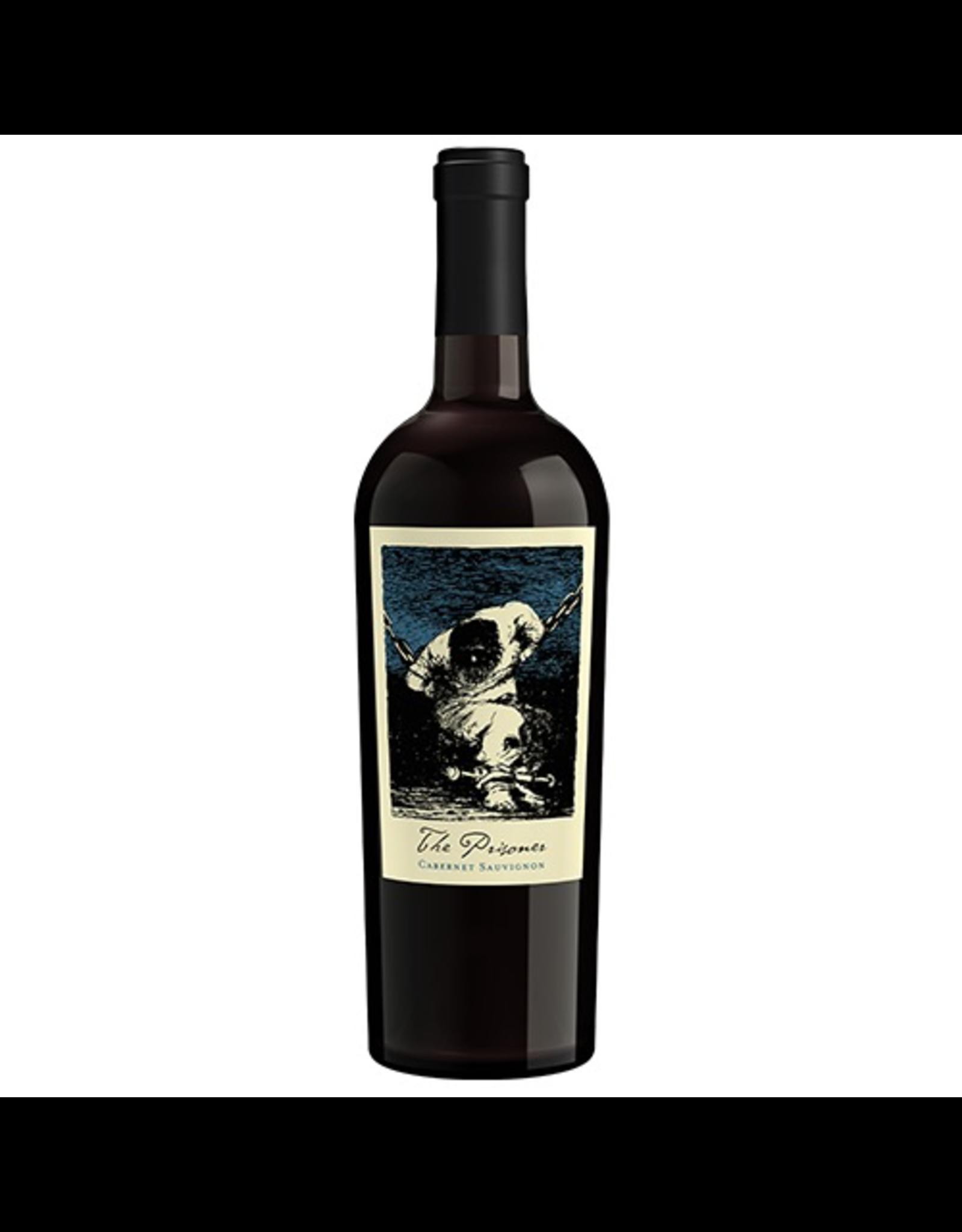Red Wine 2018 Prisoner Wine Company, Cabernet Sauvignon, Napa Valley, Napa, California, 15.2% Alc, CT