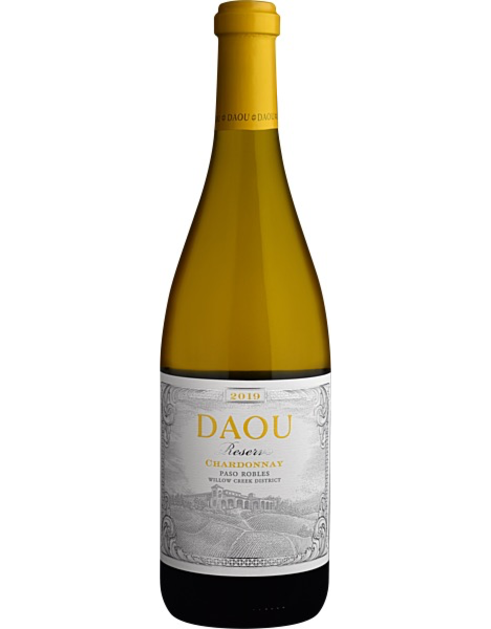 White Wine 2018, DAOU Vineyards RESERVE, Chardonnay, Paso Robles, Central Coast, California, 14.2% Alc, CT 86.5